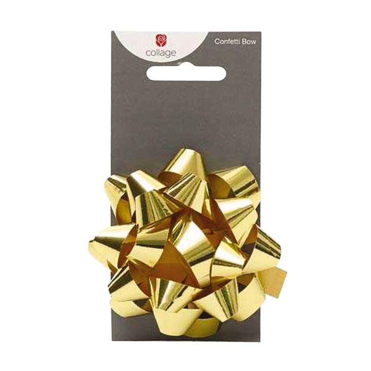 John Sands Bows Confetti Gold, , hi-res