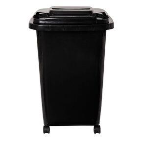Living & Co Wheelie Bin Black 60L