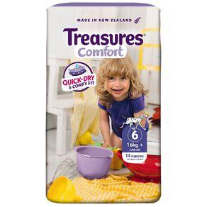 Treasures Standard Junior Nappies 14 Pack