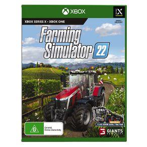 Xbox Series X Farming Simulator 22