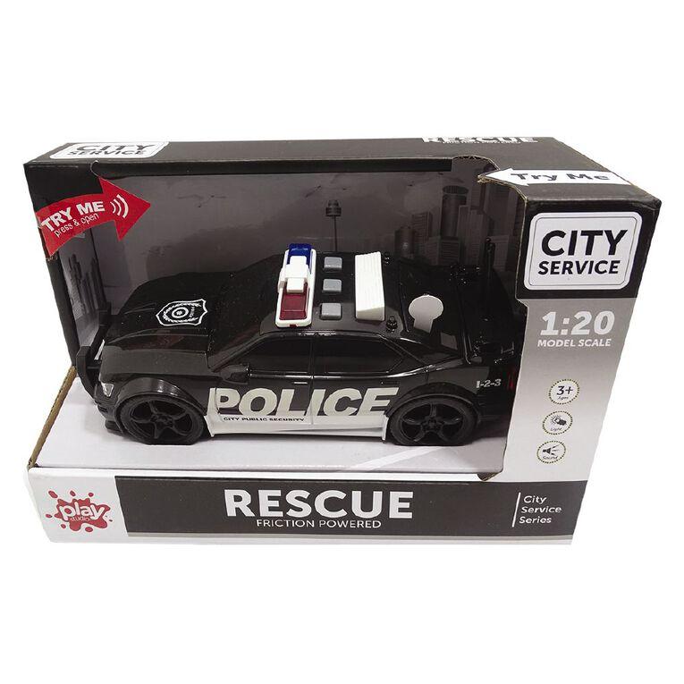 Play Studio Light & Sound 1:20 Police Car, , hi-res