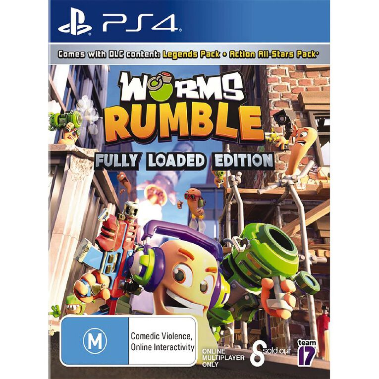 PS4 Worms Rumble Fully Loaded Edition, , hi-res