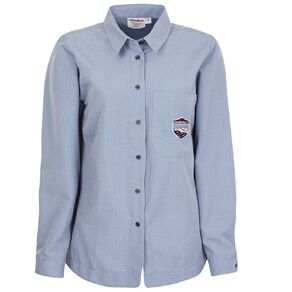 Schooltex Darfield High Girls' Long Sleeve Shirt with Embroidery