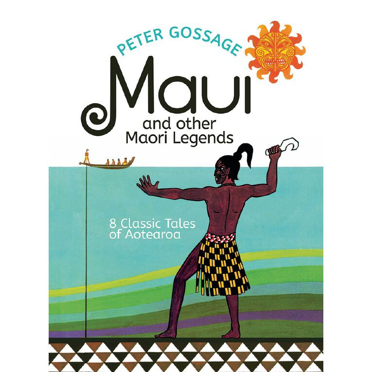 Maui and Other Maori Legends by Peter Gossage N/A, , hi-res