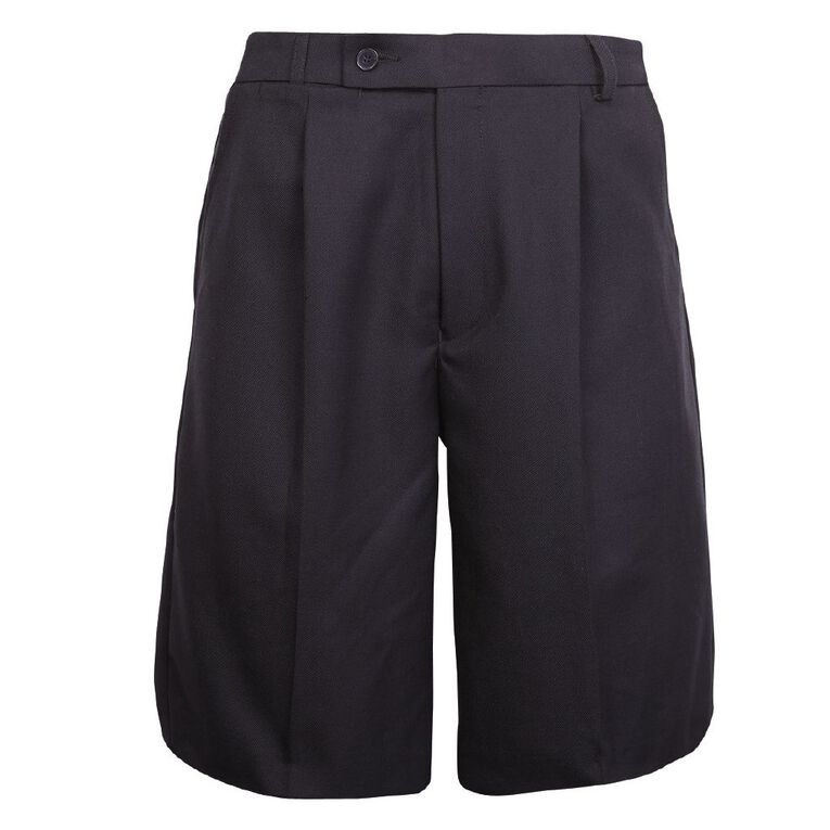 Schooltex Polyester/Wool Lined Shorts, Ink, hi-res