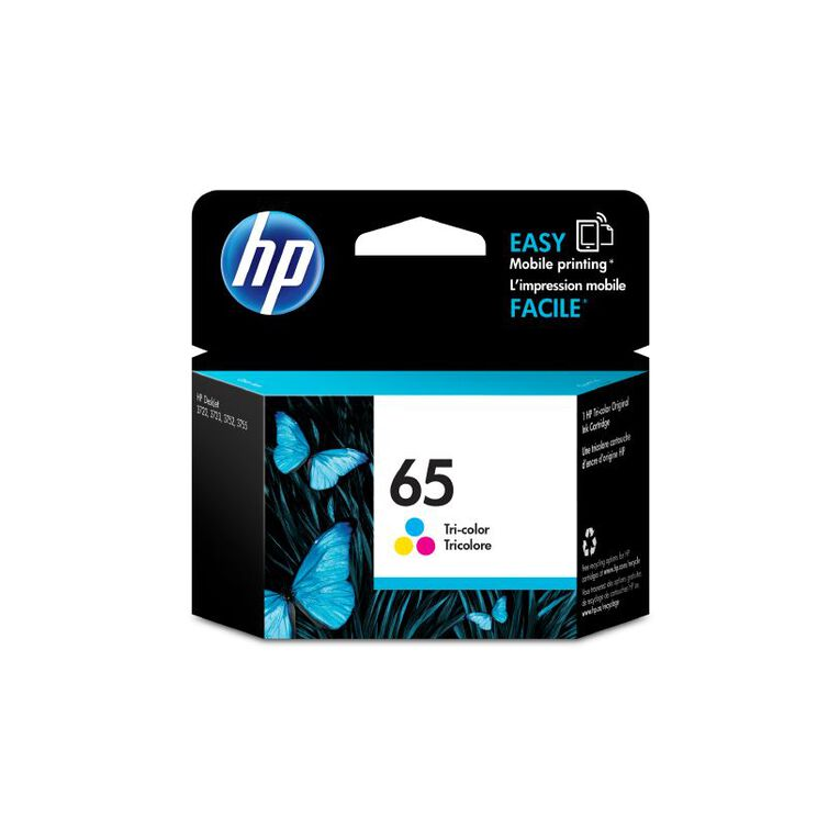 HP Ink 65 Colour (100 Pages), , hi-res image number null