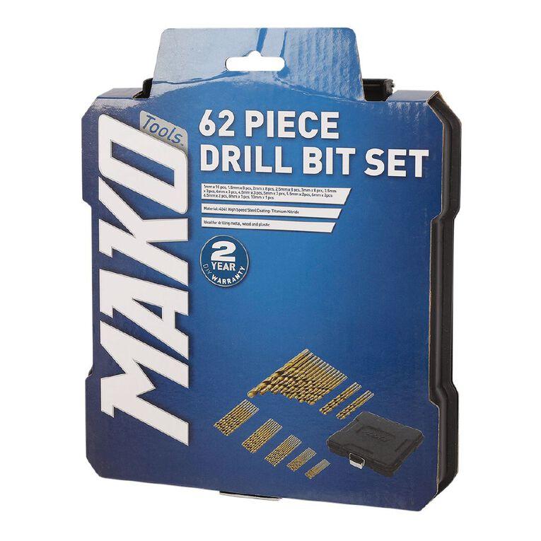 Mako 62 Piece Drill Bit Set, , hi-res