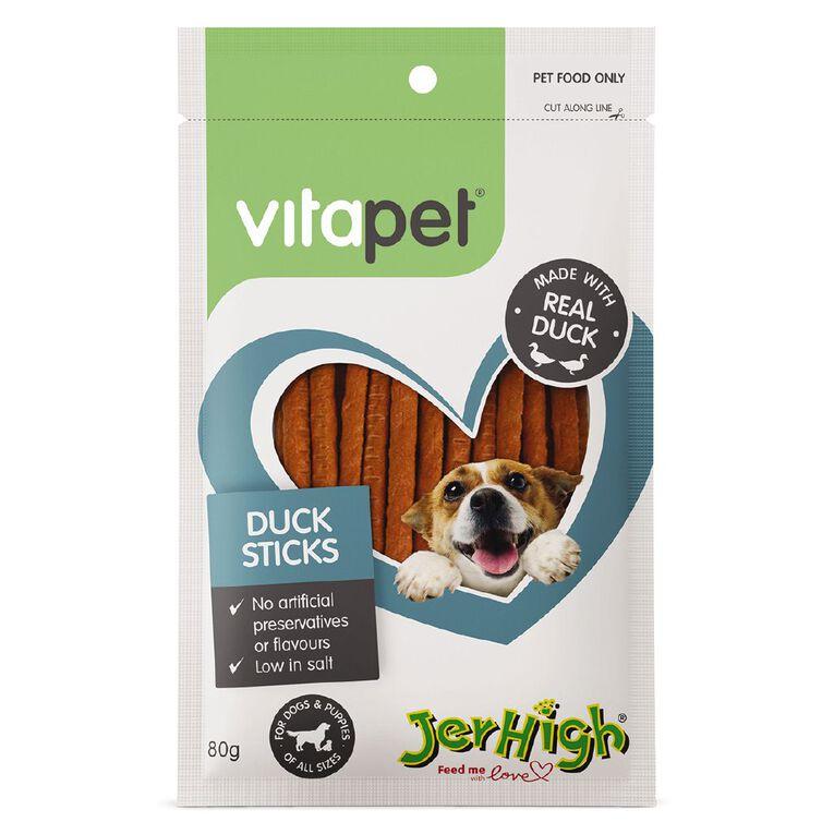 Vitapet Duck Sticks 80g, , hi-res