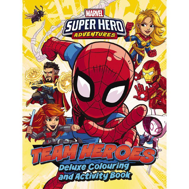 Marvel Superhero Adventures Deluxe Colouring Book, , hi-res