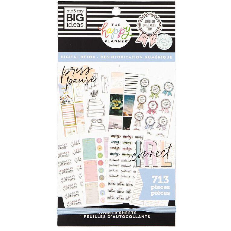 Me & My Big Ideas Sticker Book Digital Detox, , hi-res