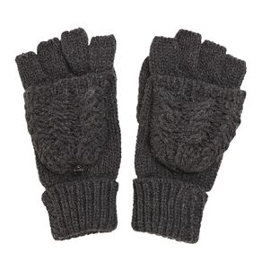 H&H Women's Cable Mittens Gloves