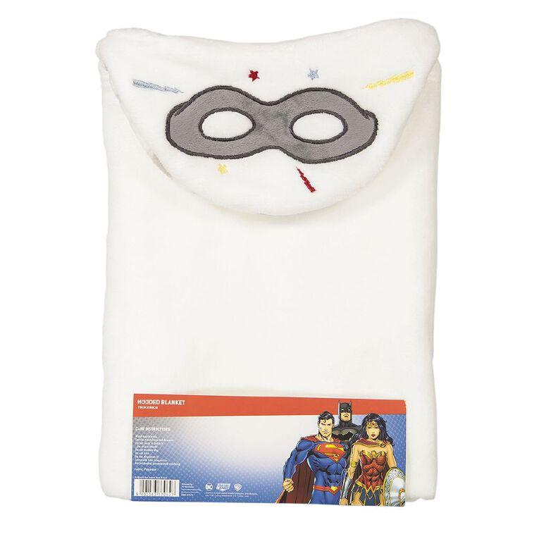 Justice League Hooded Blanket, , hi-res