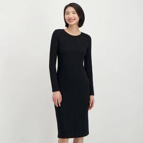 H&H Women's Brushed Rib Dress