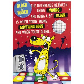 John Sands Giggles Birthday Cheetah on The Dancefloor