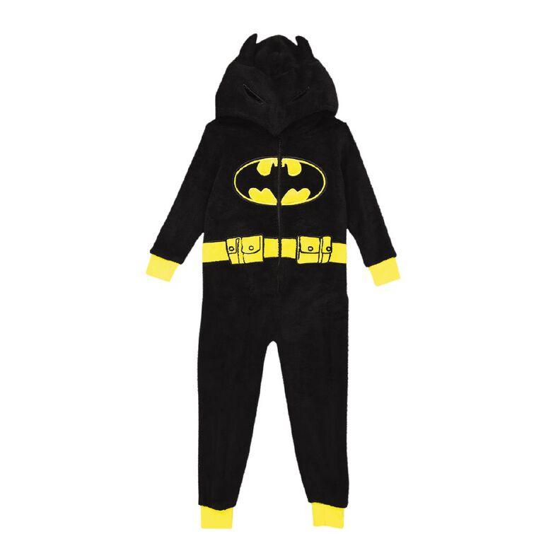 Batman Kids' Onesie, Black, hi-res