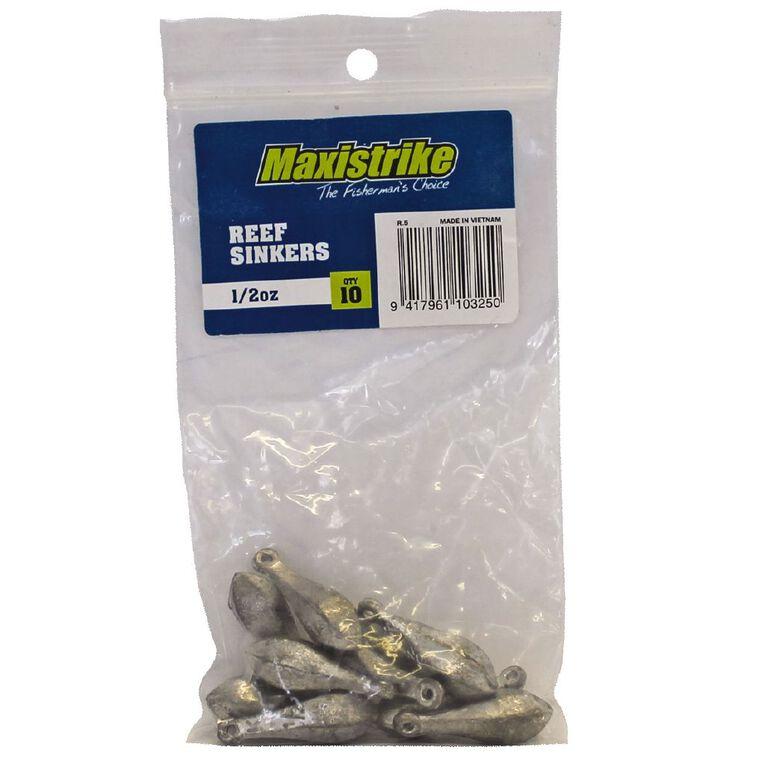 Maxistrike Fishing Sinkers Reef 1/2 oz 10 Pack, , hi-res