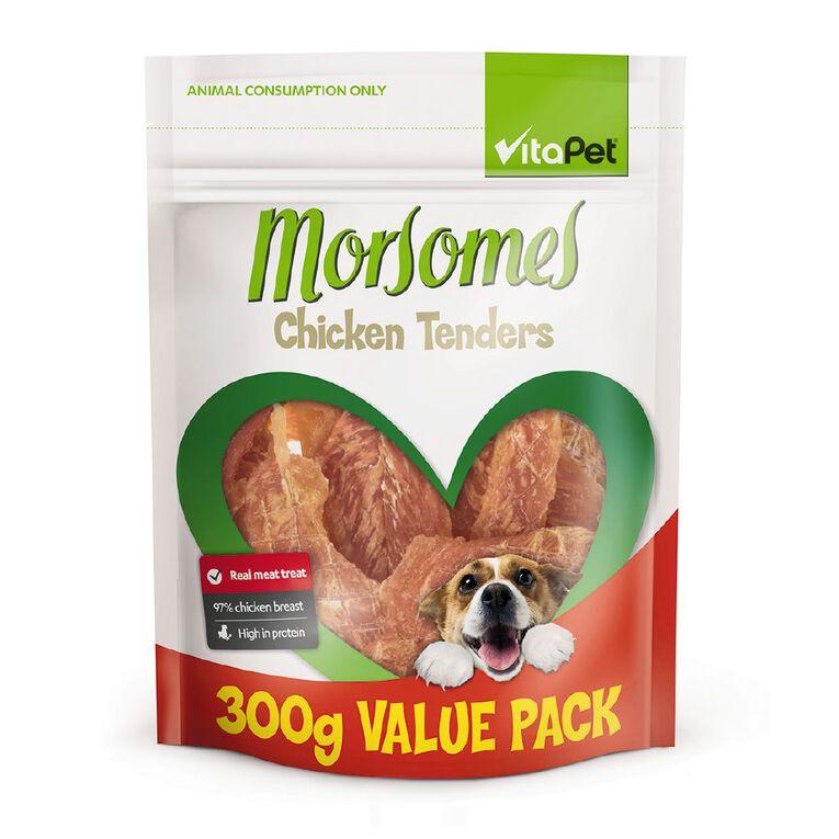 Vitapet Morsomes Chicken Tenders 300g, , hi-res