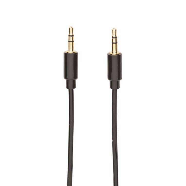 Tech.Inc Aux Cable 3.5mm-3.5mm 1m Black, , hi-res