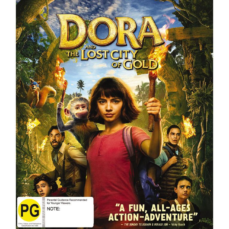 Dora And The Lost City Of Gold Blu-ray 1Disc, , hi-res