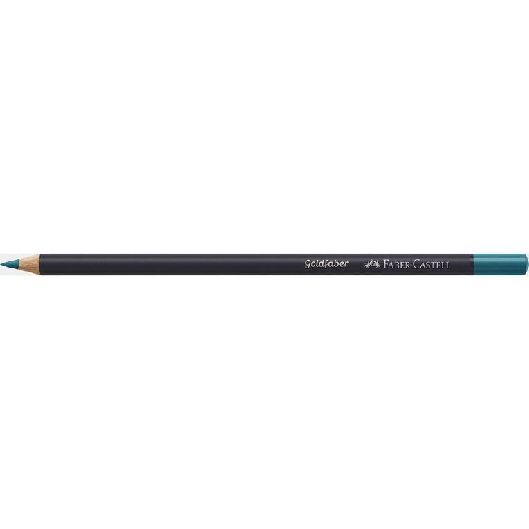 Faber-Castell Colour Pencil Goldfaber Col154 - Light Cobalt Turquoise, , hi-res