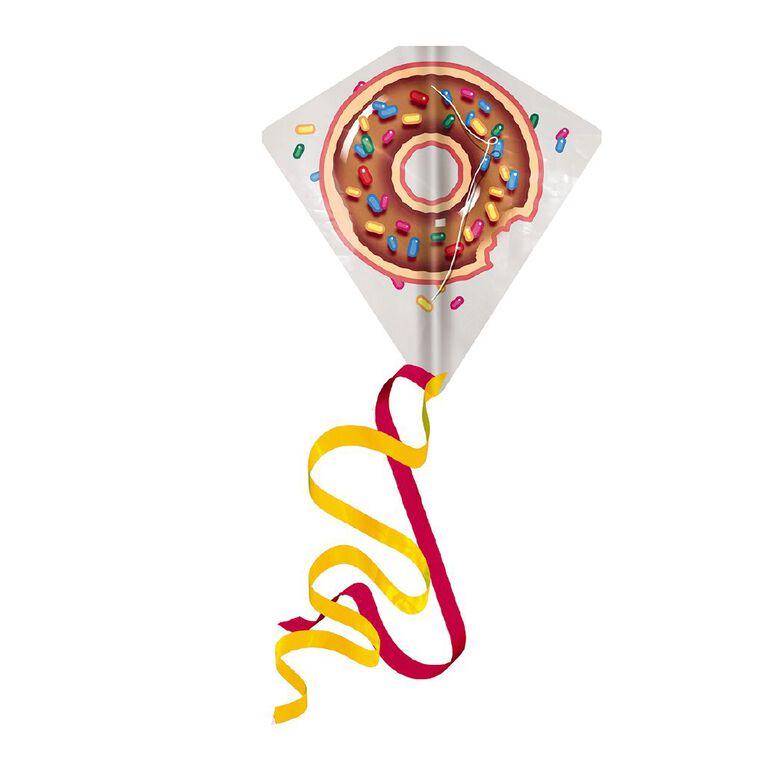 EOLO Ready To Fly Plastic Diamond Kite Donut, , hi-res