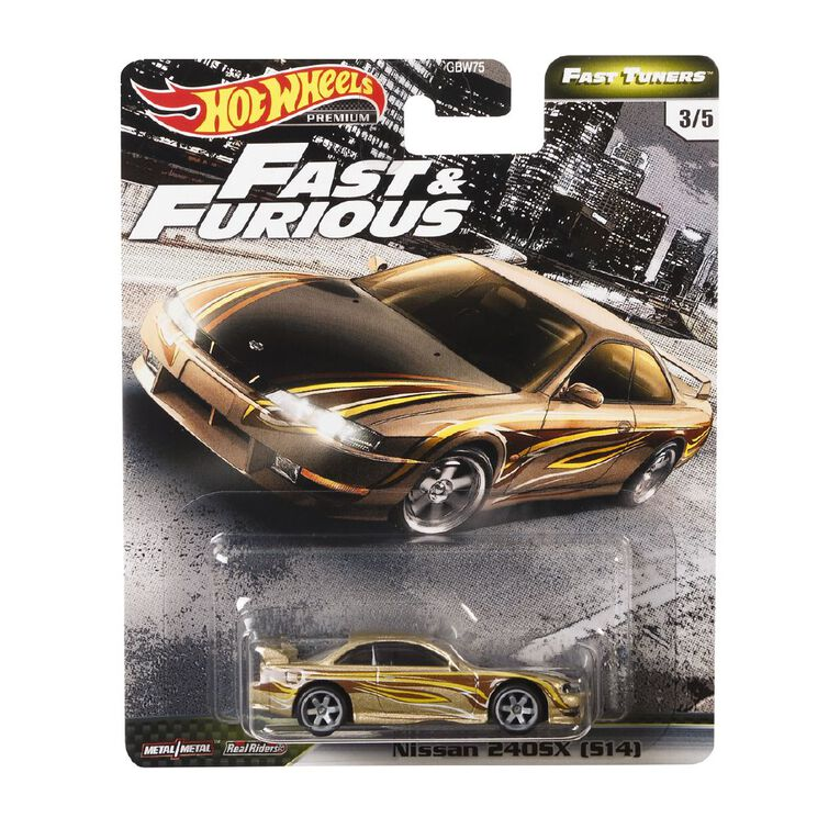 Hot Wheels Fast & The Furious Premium Single Assorted, , hi-res