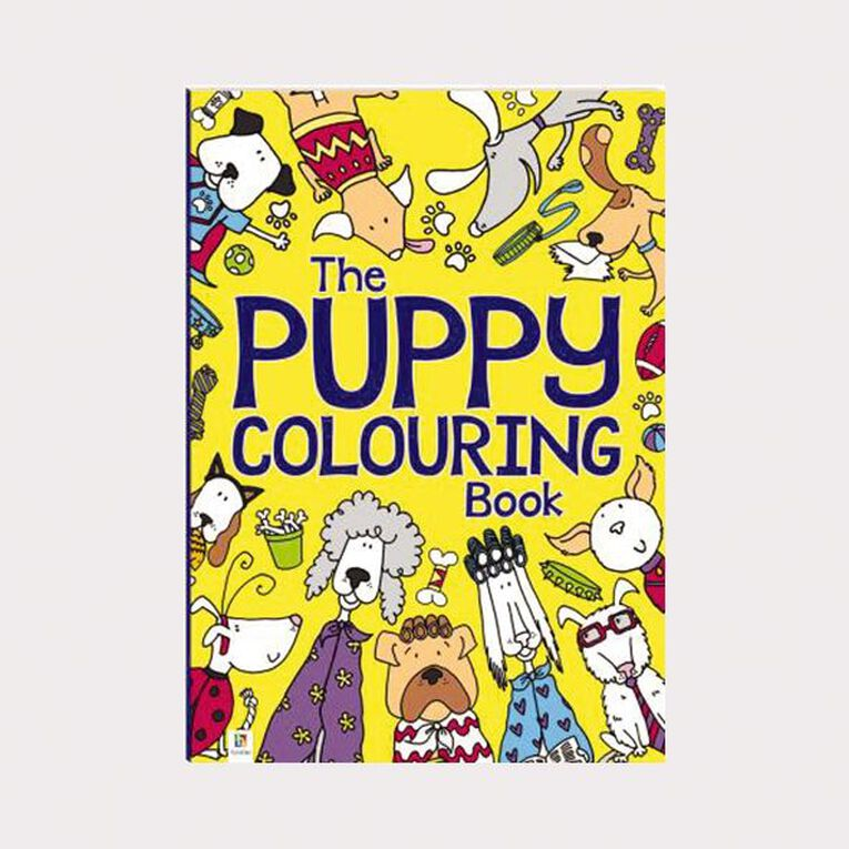 The Puppy Colouring Book by Michael O'Mara, , hi-res