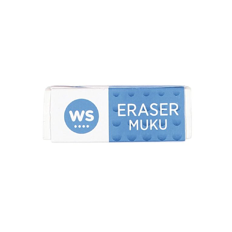 WS Eraser Single Loose White, , hi-res