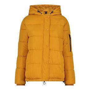 H&H Women's Hooded Puffer Jacket