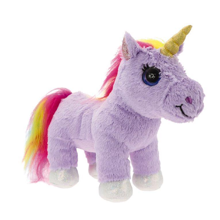 Cutekins Unicorn Plush with Carry Case Assorted, , hi-res