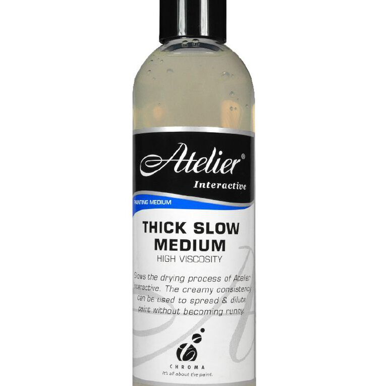 Atelier Thick Slow Medium Clear 250ml, , hi-res