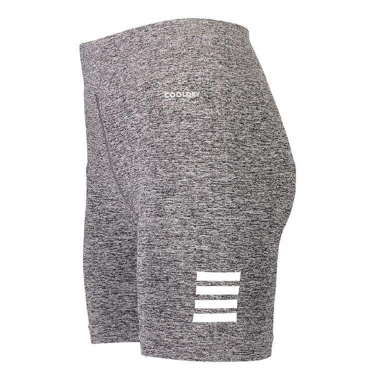 Active Intent Women's Seamless Shorts, Grey Dark, hi-res