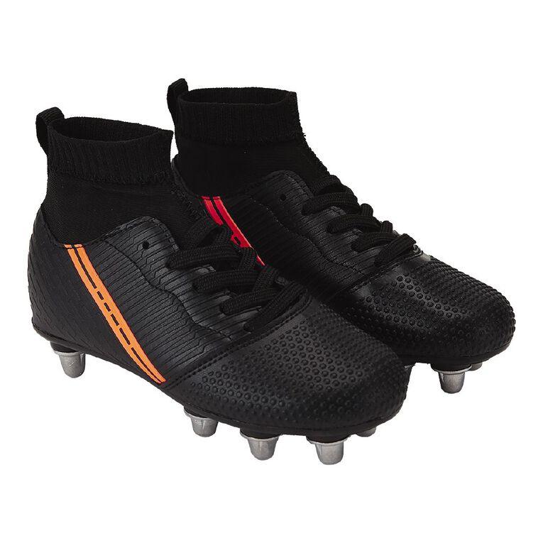 Active Intent Dash Shoes, Black/Orange, hi-res
