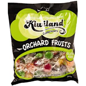 Kiwiland Mixed Fruit Flavoured Boiled Sweets