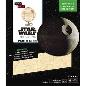 Star Wars Incredibuilds Death Star 3D Wooden Model