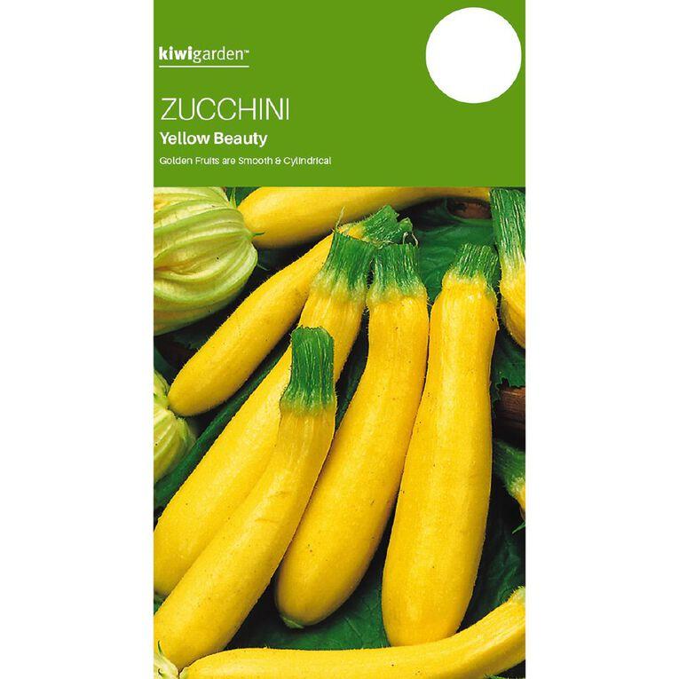 Kiwi Garden Zucchini Yellow, , hi-res