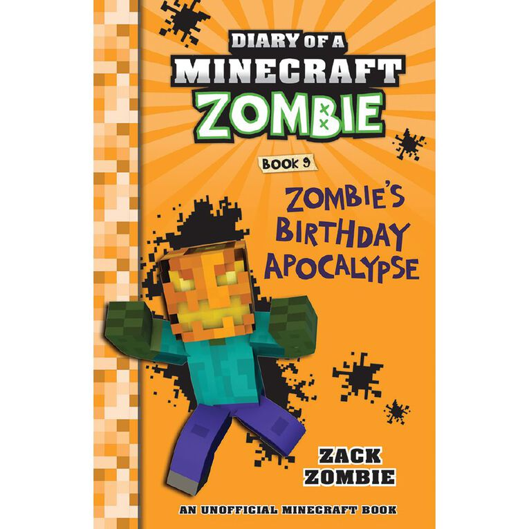 Minecraft Zombie #9 Zombie's Birthday Apocalypse by Zack Zombie, , hi-res