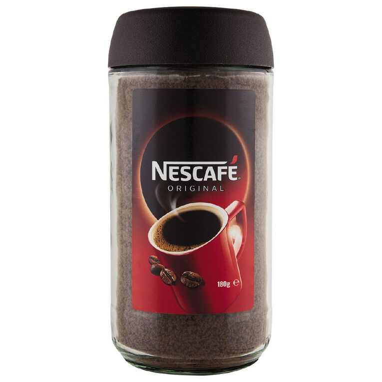 Nescafe Original Coffee 180g, , hi-res