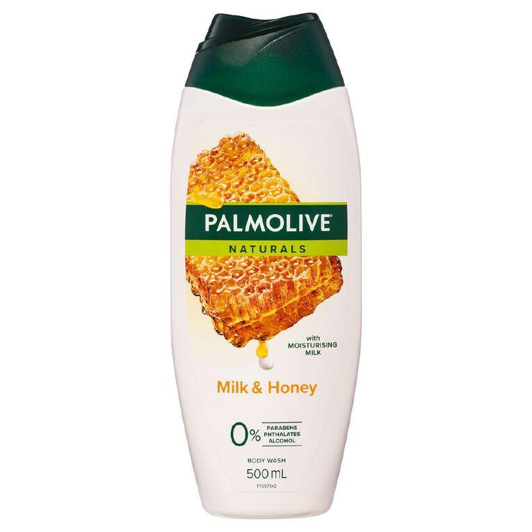 Palmolive Milk & Honey Body Wash 500ml, , hi-res
