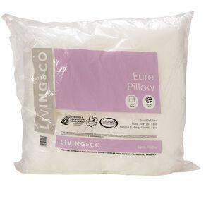 Living & Co Pillow Euro White 62cm x 62cm
