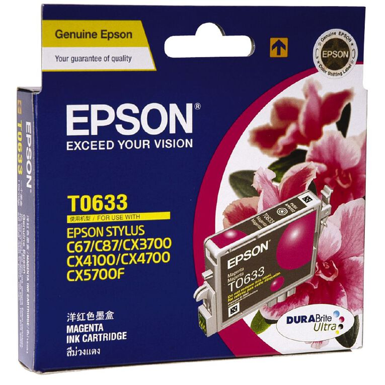 Epson Ink T0633 Magenta (380 Pages), , hi-res