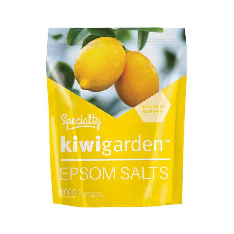 Kiwi Garden Specialty Epsom Salts 600g, , hi-res image number null