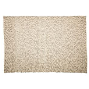 Living & Co Wool Pile Pebble Oversize Area Rug Natural 200cm x 300cm