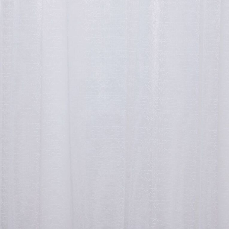 Living & Co Milano Net White 150cm x 120cm Drop, White, hi-res