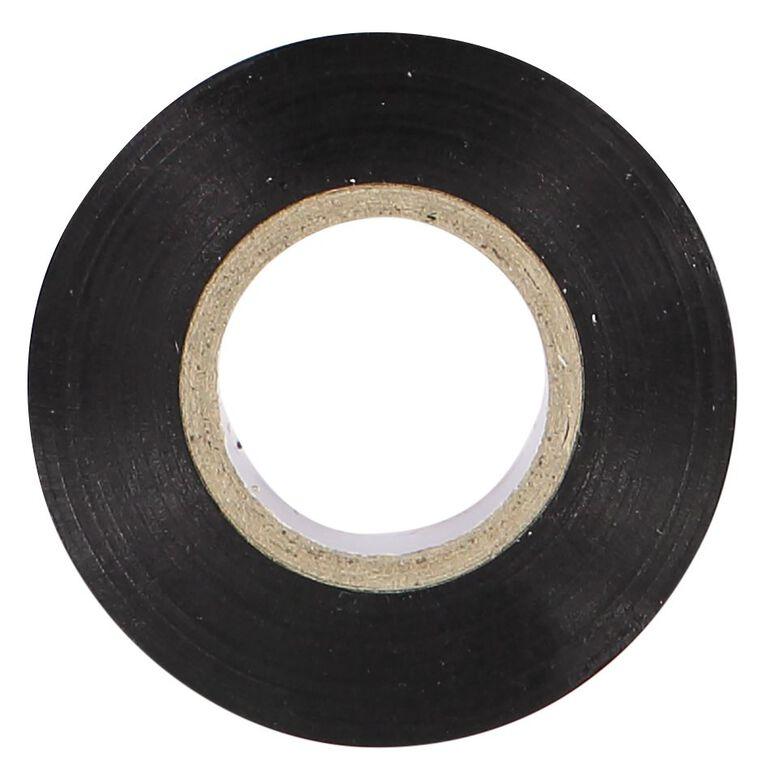 Pomona PVC Electrical Insulation Tape 20m x 18mm Black, , hi-res