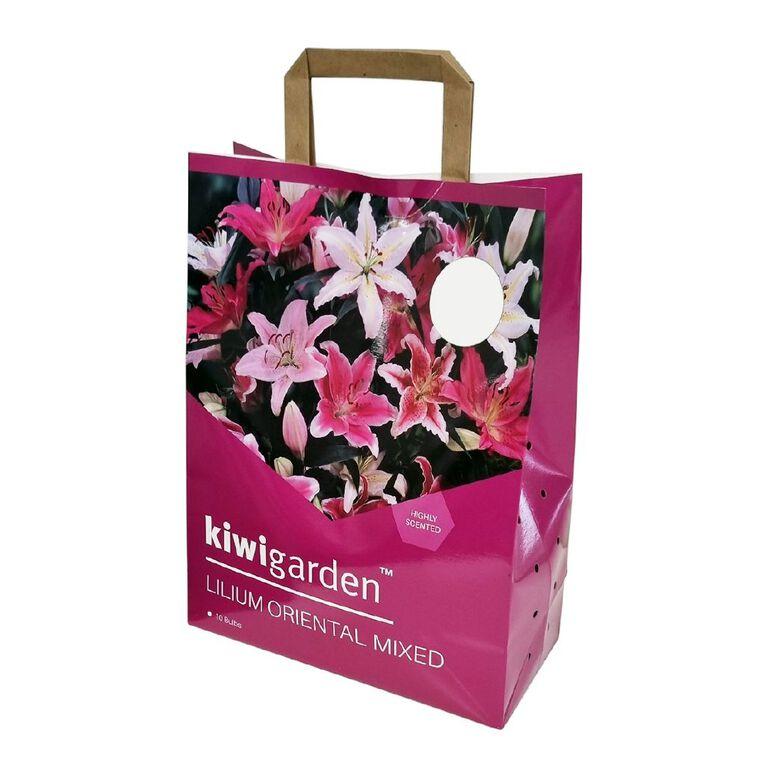 Kiwi Garden Oriental Lily Carry Bag 10PK, , hi-res