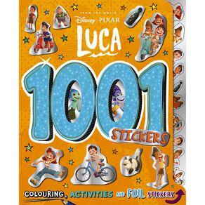 Disney: Luca 1001 Stickers