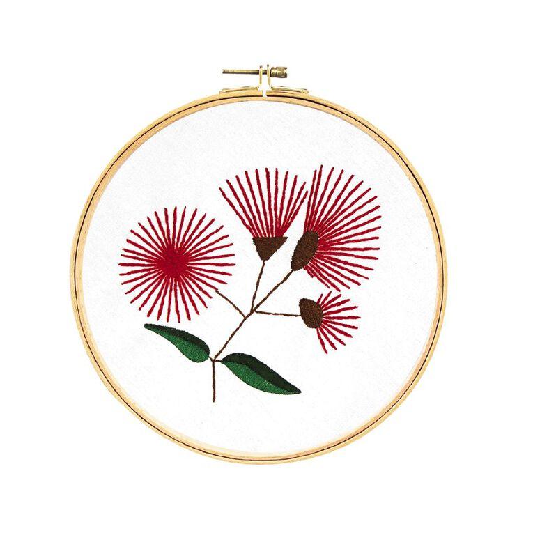 Uniti Embroidery Kit Pohutukawa 12 Pieces, , hi-res