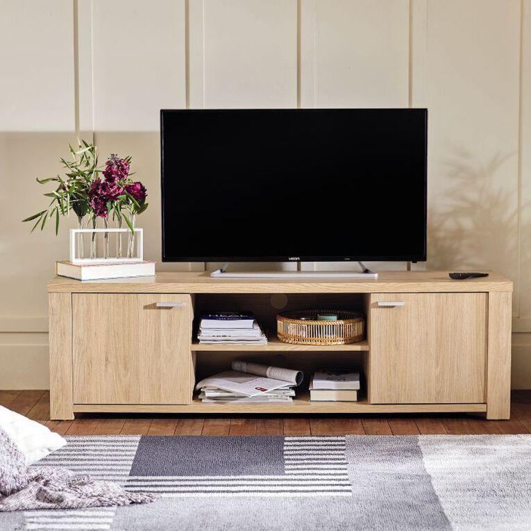 Living & Co Modern Geo Area Rug Grey 160cm x 230cm, Grey, hi-res