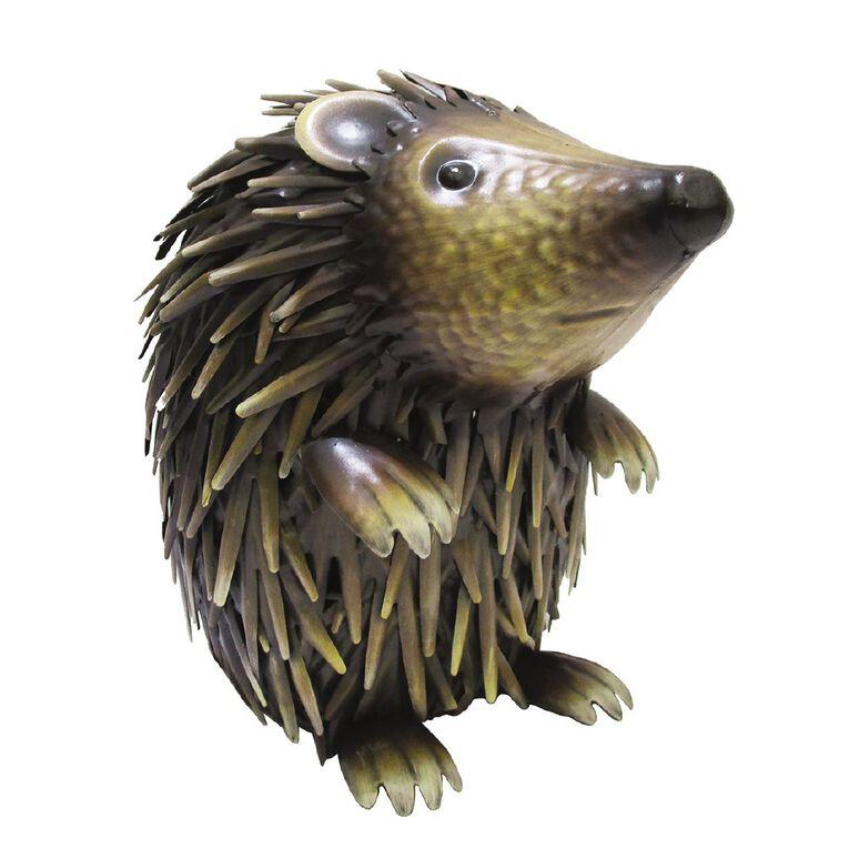 Kiwi Garden Metal Hedgehog, , hi-res